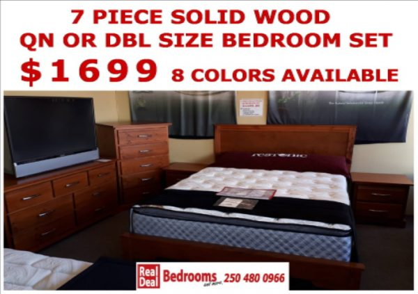 1699 Solid wood bedroom set 2019 resized
