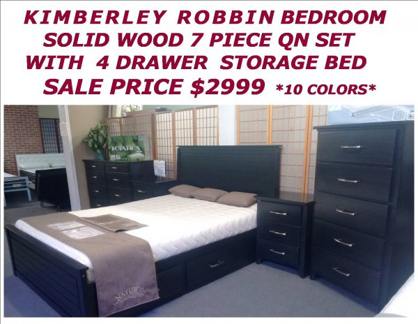 KIMBERLEY ROBBIN BEDROOM SET SPECIAL 2018 POP