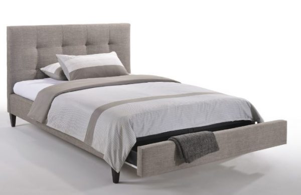 Sage bed with Drawer Grey